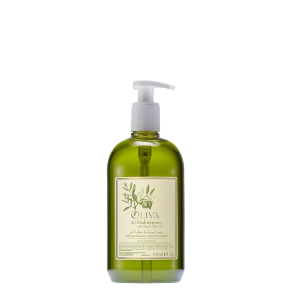 Oliva Del Mediterraneo – Hair, Hands & Body Wash 500ml