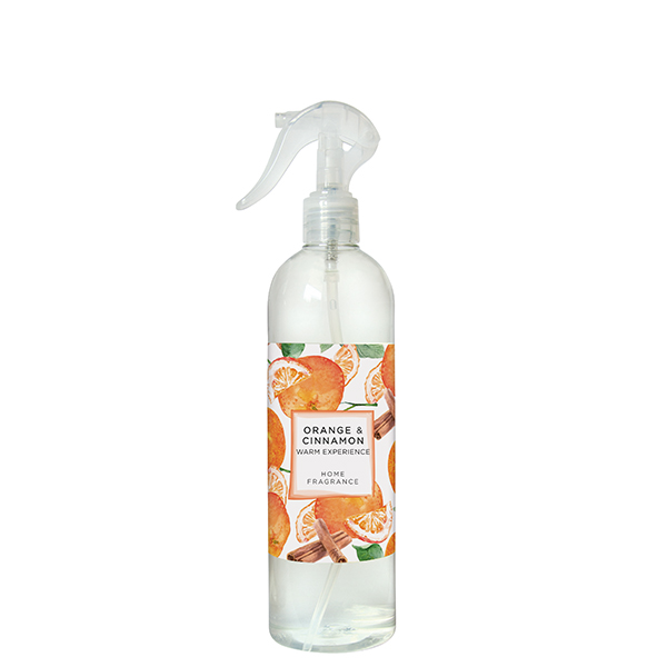 Orange & Cinnamon - Spray per Ambienti e Tessuti 500ml