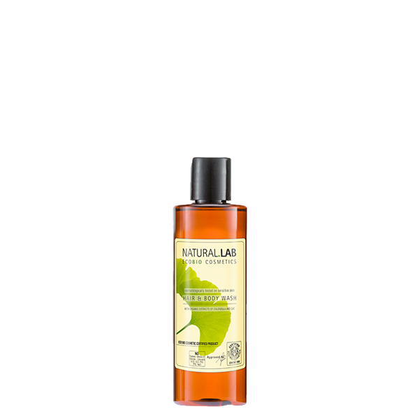 Natural Lab – Hair & Body Wash 200ml