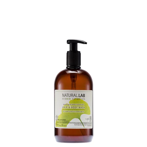 Natural Lab - Hair & Body Wash 500ml