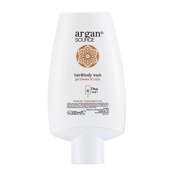 Hair & Body Wash 300 ml<br/><strong>Argan</strong>
