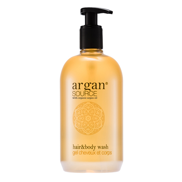 Hair & Body Wash 500 ml <br><strong> Argan Source</strong>