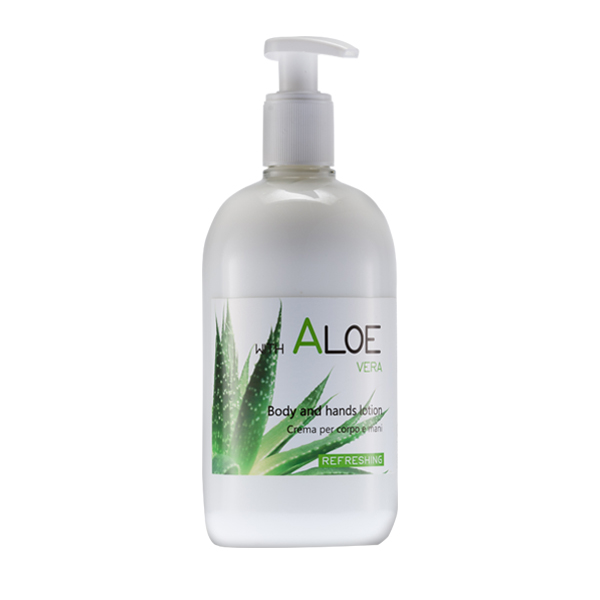 Body & Hands Lotion 500 ml<br><strong>Aloe Vera</strong>