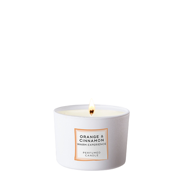 Scented Candle 140 g<br><strong>Orange & Cinnamon</strong>