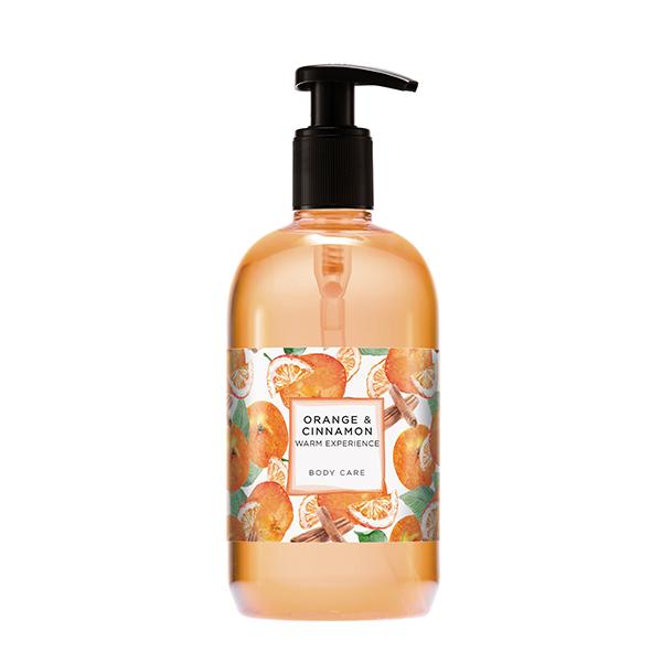 Gel Hair, Body Hands 500 ml<br><strong>Orange & Cinnamon</strong>